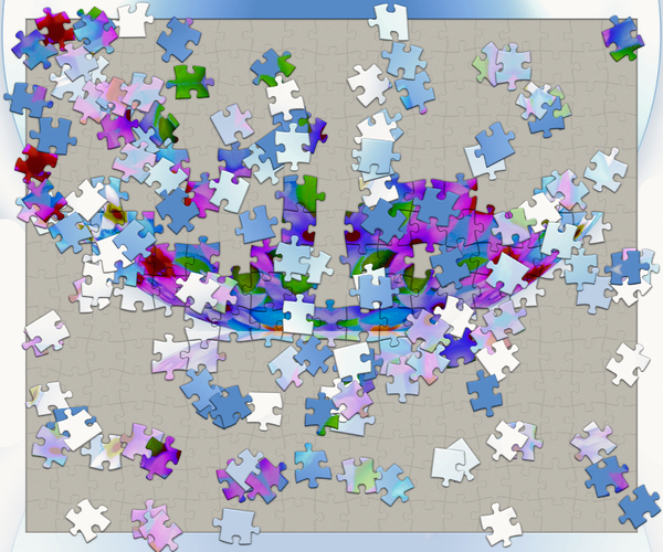 Jigsaw Puzzle 2: A floral jigsaw puzzle with most pieces out of place. Could illustrate unfinished business or grappling with the pieces of a complex problem. You may prefer:  http://www.rgbstock.com/photo/n5WZyRk/Jigsaw+Puzzle  or:  http://www.rgbstock.com/photo/n68c9Zy/