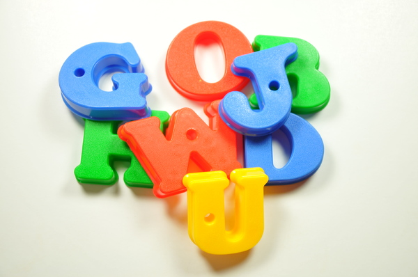 colorful letters: colorful letters