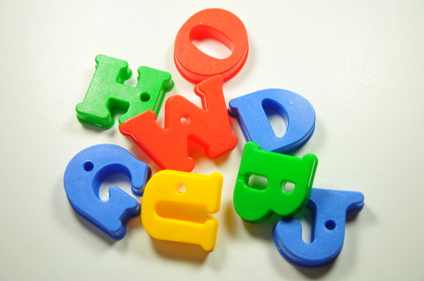 toy letters: toy letters