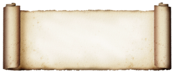 Rough Pastel Scroll: A papier scroll with a rough pastel texture.