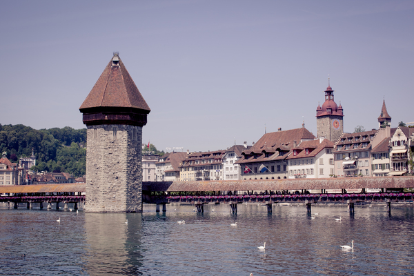 Lucerne Cityscape 1: Photo of Lucerne cityscape