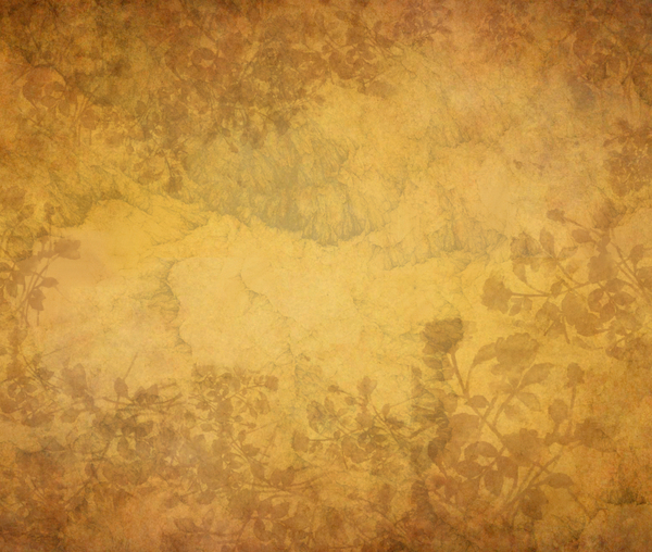 Floral textured background: Several layers of textures was used