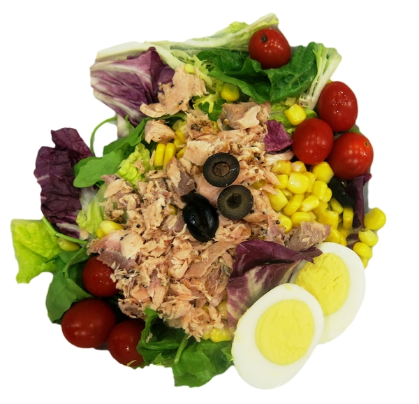 healthy fish salad: healthy fish salad