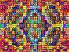 multicolored rainbow weave5