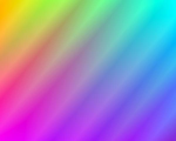 Rainbow Gradient Background 6: A colourful background or fill in a gradient of rainbow colours. You may prefer:  http://www.rgbstock.com/photo/n2UtdJe/Rainbow+Gradient+Background  or:  http://www.rgbstock.com/photo/ohSpQzs/Rainbow+Gradient+Background+3
