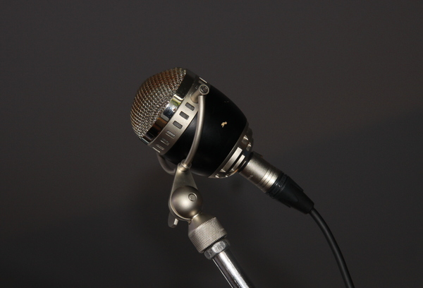 Microphone: Old style microphone