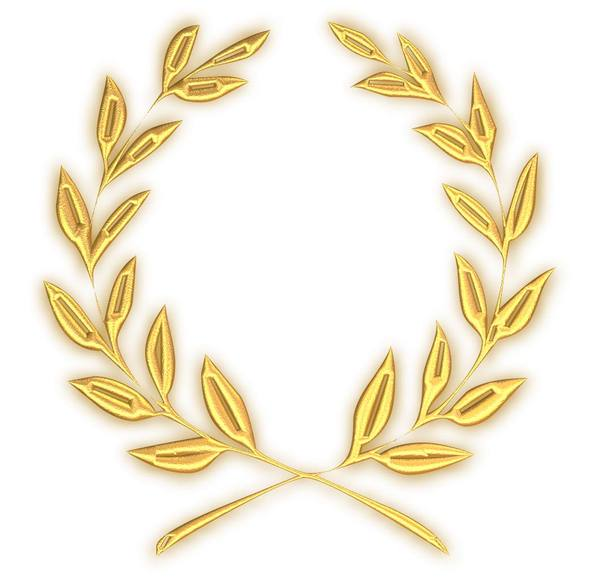 Golden Wreath: A golden laurel or olive wreath. You may prefer:  http://www.rgbstock.com/photo/p79wnOy/Golden+Celtic+Border+2  or:  http://www.rgbstock.com/photo/oy8UaJu/Round+Golden+Border
