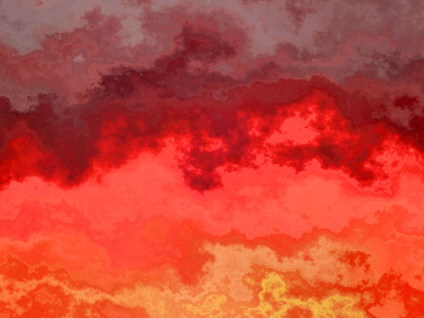 flaming fire storm: abstract bright fiery flaming fire storm image