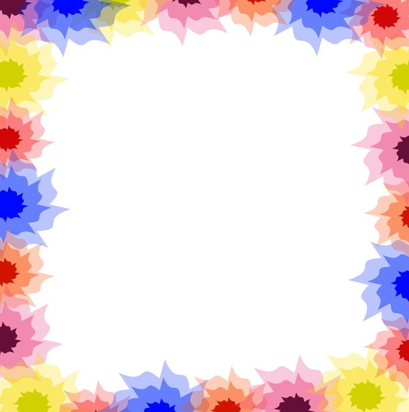 Spring Frame: A floral springtime or summery frame in bright colours. You may prefer:  http://www.rgbstock.com/photo/ozwvD82/Rectangular+Backdrop+2  or:  http://www.rgbstock.com/photo/nZ6Yl2c/Ornate+Floral+Border