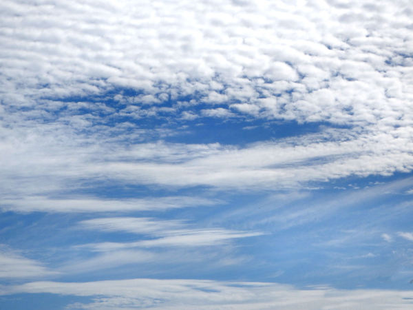 cloud opening: southern cloud formations