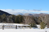 Adirondack winter scene