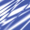 Blue Silk Folds