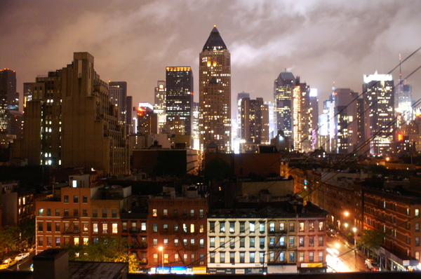 The city that never sleeps: New York, the city that never sleeps