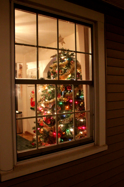 Christmas_Tree_in_Window: Christmas tree in window as taken from outside.